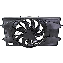 OE Replacement Radiator Fan Shroud Assembly - Fits 2.2L Engine