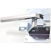 Interior Door Handle - Front, Driver Side, Chrome, without Case