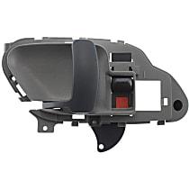 Interior Door Handle - Front, Driver Side, Gray