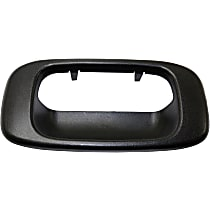 Tailgate Handle Bezel - Textured Black, All Cab Types