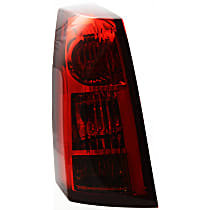 Driver Side Tail Light, With bulb(s) - 2004-2007 Cadillac CTS, Red Lens