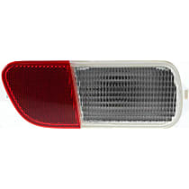 Replacement Back Up Light - C731304 - Driver Side, Direct Fit