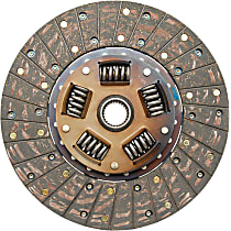 384193 Clutch Disc - Organic 10.4 in. Direct Fit, Sold individually