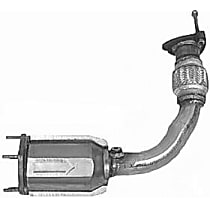 1009 Catalytic Converter - 47-State Legal (Cannot ship to CA, NY or ME) - Front
