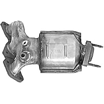 1011 Catalytic Converter - 47-State Legal (Cannot ship to CA, NY or ME) - Rear