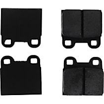 Centric C-Tek Brake Pad Set Rear