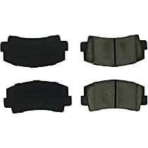 102.00760 Centric C-Tek Front Brake Pad Set
