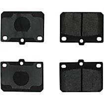 102.01010 C-Tek Series Front Brake Pad Set