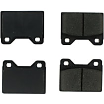 102.01080 Centric C-Tek Front Brake Pad Set