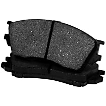 102.08830 Centric C-Tek Rear Brake Pad Set