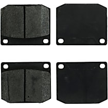 104.00020 Centric Posi-Quiet Front Brake Pad Set