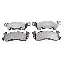 104.00520 Centric Posi-Quiet Front Brake Pad Set