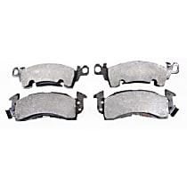 104.00520 Posi-Quiet Series Front Brake Pad Set