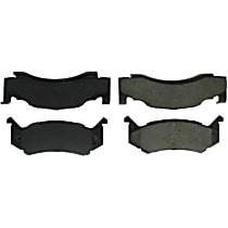 104.01230 Centric Posi-Quiet Front Brake Pad Set