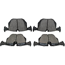 104.06830 Centric Posi-Quiet Rear Brake Pad Set