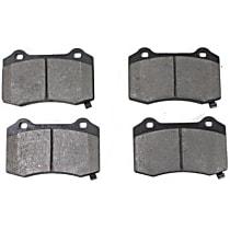 104.10530 Posi-Quiet Series Rear Brake Pad Set