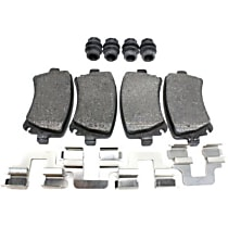 104.11080 Centric Posi-Quiet Rear Brake Pad Set