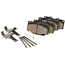 104.10500 Centric Posi-Quiet Front Or Rear Brake Pad Set