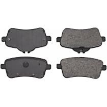 Centric Posi-Quiet Rear Brake Pad Set