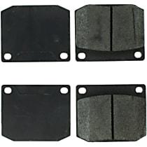 105.00020 Centric Posi-Quiet Front Brake Pad Set