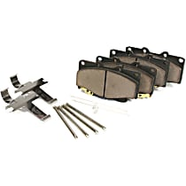 Centric Posi-Quiet Brake Pad Set Rear