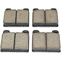 105.00310 Centric Posi-Quiet Brake Pad Set
