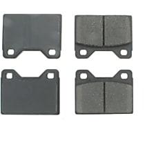 105.01080 Centric Posi-Quiet Front Brake Pad Set