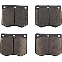 105.03300 Centric Posi-Quiet Front Brake Pad Set