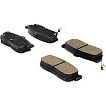 105.05400 Centric Posi-Quiet Rear Brake Pad Set