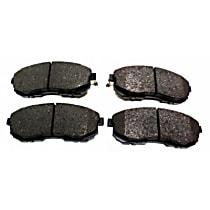 105.06530 Centric Posi-Quiet Front Brake Pad Set
