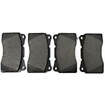 Centric Posi-Quiet Brake Pad Set Front Or Rear
