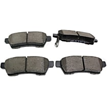 105.11000 Posi-Quiet Series Rear Brake Pad Set