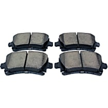 105.11080 Centric Posi-Quiet Rear Brake Pad Set