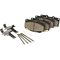 105.14670 Centric Posi-Quiet Front Brake Pad Set