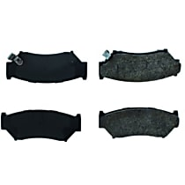 Centric Posi-Quiet Extended Wear Front Brake Pad Set