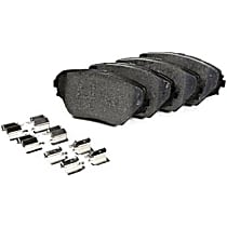 106.11251 Centric Posi-Quiet Extended Wear Front Brake Pad Set