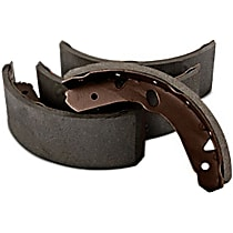 110.08170 Parking Brake Shoe - Direct Fit, 2-Wheel Set