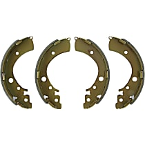 Centric 110.08500 Parking Brake Shoe - Direct Fit, 2-Wheel Set