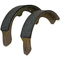 Centric 111.02450 Brake Shoe Set - Direct Fit, 2-Wheel Set