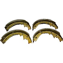 111.04730 Brake Shoe Set - Direct Fit, 2-Wheel Set