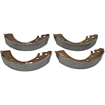 111.07230 Brake Shoe Set - Direct Fit, 2-Wheel Set