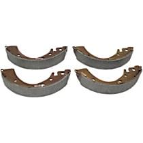 Centric 111.07230 Brake Shoe Set - Direct Fit, 2-Wheel Set