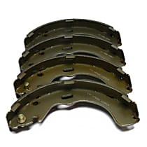Brake Shoe Set - Direct Fit, 2-Wheel Set