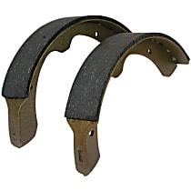 Centric 111.08001 Brake Shoe Set - Direct Fit, 2-Wheel Set