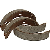 Centric 111.09670 Parking Brake Shoe - Direct Fit, 2-Wheel Set