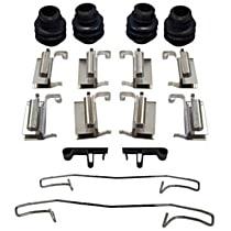 117.02001 Brake Hardware Kit - Direct Fit, Kit