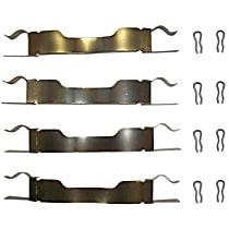117.37002 Brake Hardware Kit - Direct Fit, Kit