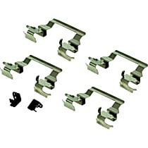117.44011 Brake Hardware Kit - Direct Fit, Kit