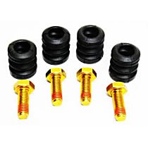 Brake Hardware Kit - Direct Fit, Kit Front or Rear
