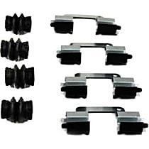 117.22004 Brake Hardware Kit - Direct Fit, Kit